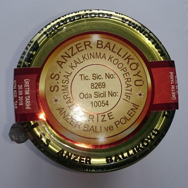 S.S Anzer Balı Kooperatifi, Anzer Poleni 100 gr,